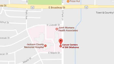 Cancer Centers of SW OK - Oklahoma Cancer Clinical Trial Facility Location