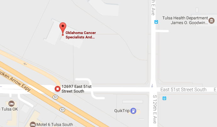 Oklahoma Cancer Specialists and Research Institute - Oklahoma Cancer Clinical Trial Facility Location