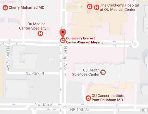 OU Jimmy Everest Center for Cancer and Blood Disorders in Children - OK Clinical Trial Facility Location